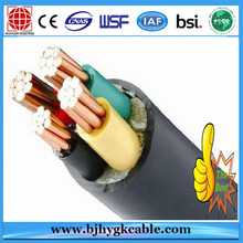 MV XLPE Insulated  HFLS Sheathed Power Cable