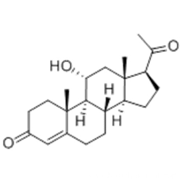 11ALPHA-HYDROXYPROGESTERONE CAS 80-75-1