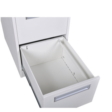 Middle Plastic Handle 2 Drawer Filing Cabinet
