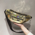 Water Resistant Shiny Fanny Bags Bum Waist Packs