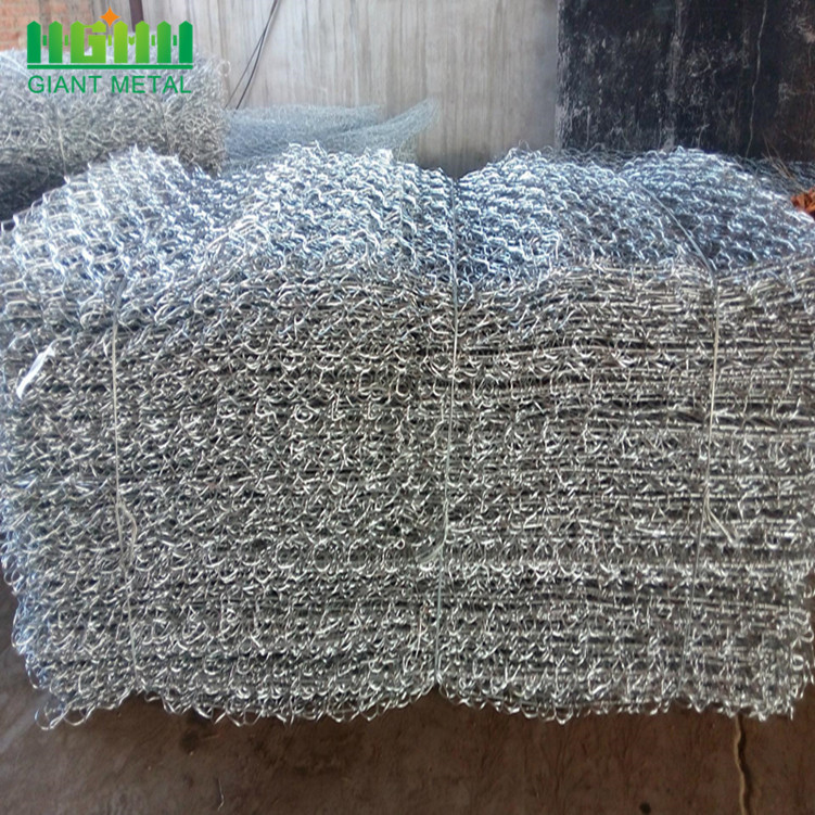 Good Quality Galvanized Woven Gabion Box