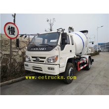 Forland 4 Wheel Heavy Duty Concrete Mixers