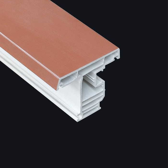 ASA pvc profile with co-extrusion uv-resistance