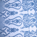 European Fashion Geometry Abstract Cord Embroidery Fabric