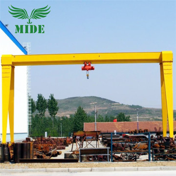 Single Beam Gantry Crane with Electric Hoist