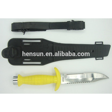China for Hunting Knife Set Plastic Handle Fixed Blade Diving Knife supply to India Factories