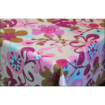 Pvc Printed fitted table Runners covers