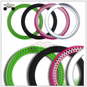 700c 70MM colorful alloy bicycle hollow rims