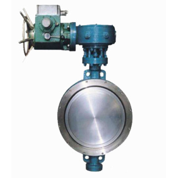 Triple Offset Wafer Electric Butterfly Valve