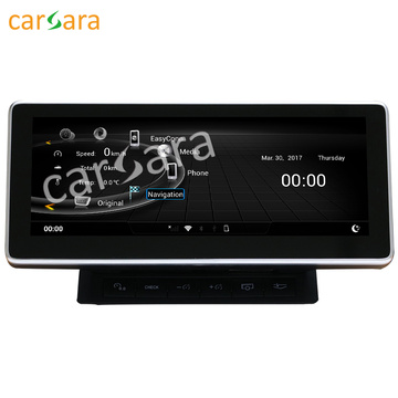 High quality factory for Car Gps Stereo Audi A6L 2005 to 2011 Smart Android infotainment system export to Croatia (local name: Hrvatska) Manufacturers