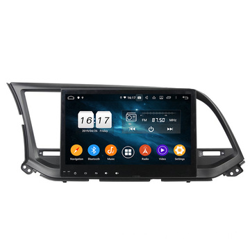 Elantra 2016 car multimedia sistema Android 9.0