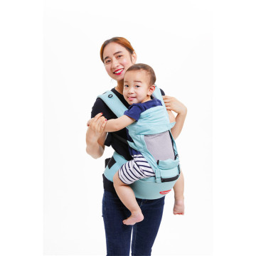 Breathable Cool Hip Seat Baby Carrier With Hoodie
