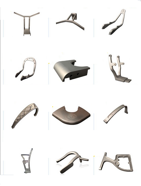 Steady Flexible Aluminum Parts for Office Furniture