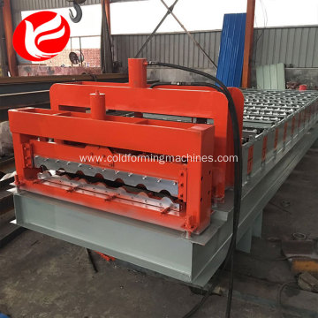 Metal  standing seam  tile forming machine