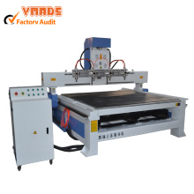 Best Price on for Woodworking CNC Router Machine 4 axis 1325 3d wood cutting cnc machine supply to Spain Importers