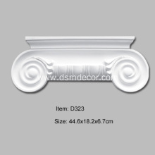Quality for Door And Window Accessories,Door And Window Frames,Pilaster Bases,Pilaster Bottoms,Pilaster Capitals,Overdoor Pediments Manufacturer in China Foam Ionic Column Pilaster Capital export to South Korea Importers