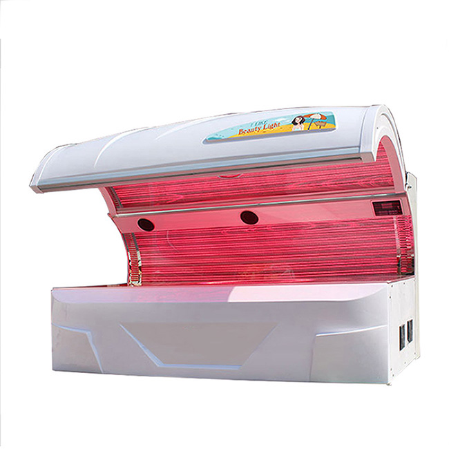 red led light therapy bed for skin