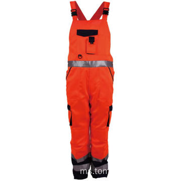 Hi Vis Workwear Reflective Work Bib Pants
