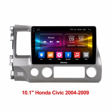 10.1'' Car GPS Auto Headunit for Honda Civic