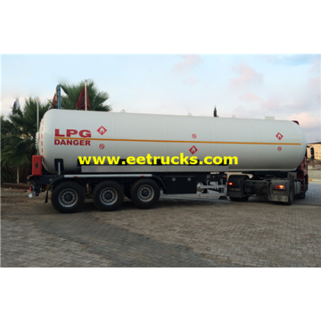 56m3 25 Ton LPG Delivery Semi-Trailers
