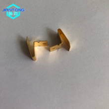 Custom Gold Plated Contacts Beryllium Copper Stamping Part