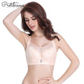 Women sexy model large cup moulded padded bra