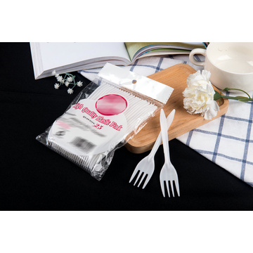 White Disposable PP Forks