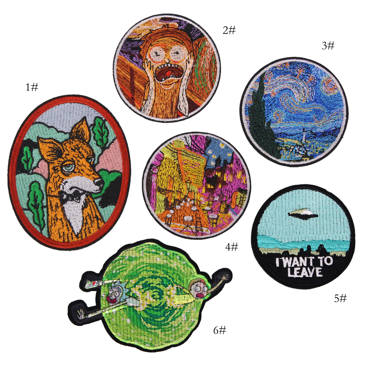 Cartoon embroidery seal trademark embroidery cloth patch patch