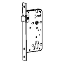 Latch bolt mortise lock