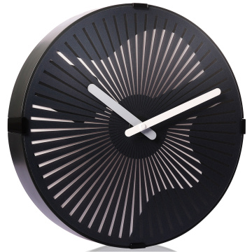 Guitar Moving Wall Clock With Light