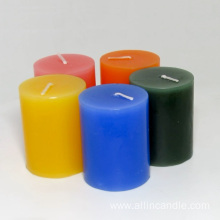 Best Honeymoon Scented Colorful Pillar Candle