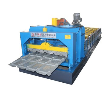 Circular Arc Glazed Tile Roof Tile Making Machine
