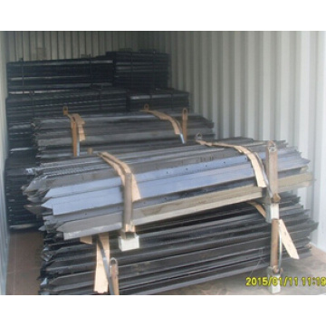 Hot Dip Galvanized Star Pickets