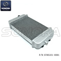 DERBI SENDAR RADIATOR with Thermostat Mounting hole (P/N:ST06101-0001) Top Quality