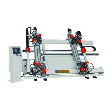 CNC Four head Aluminum Corner Crimping Machine