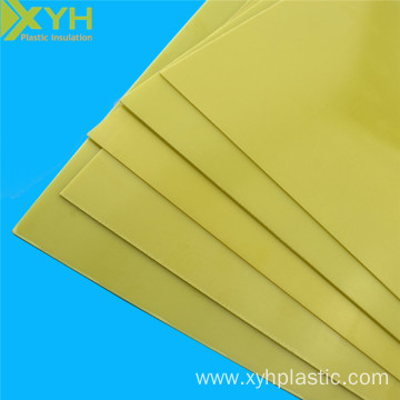 Yellow Epoxy Glass Cloth Sheet 3240