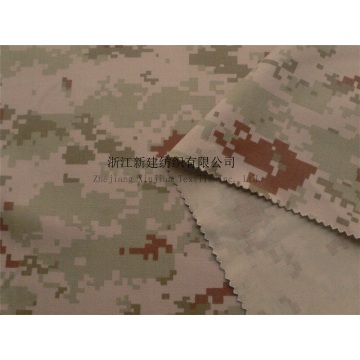 CVC Digital Camouflage Herringboned Fabric
