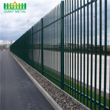 Cheap for  Colorful W Section Palisade Fence/ Steel Palisade fencing export to Netherlands Antilles Manufacturer