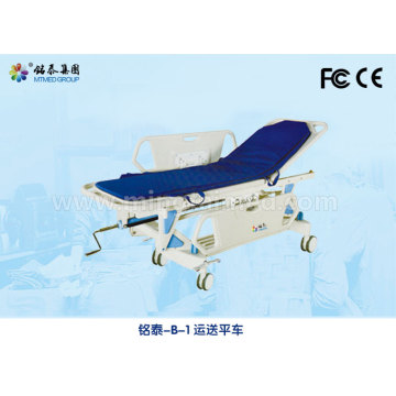 Height adjustable ABS plastic stretcher