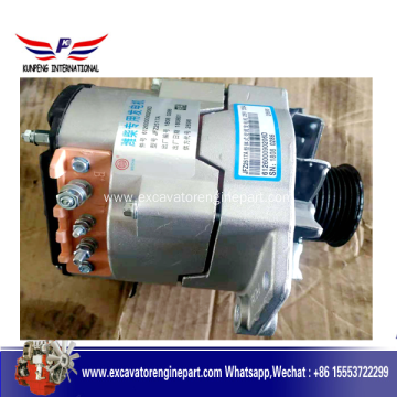 Hot selling attractive price for Wechai Engine Part,Starter Motor,Wechai Diesel Engine Part Manufacturers and Suppliers in China Weichai Generator Engine Parts Alternator 612602090026D supply to Greenland Factory