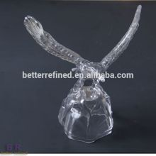 Wholesale Hand Made Crystal Eagle Figurine