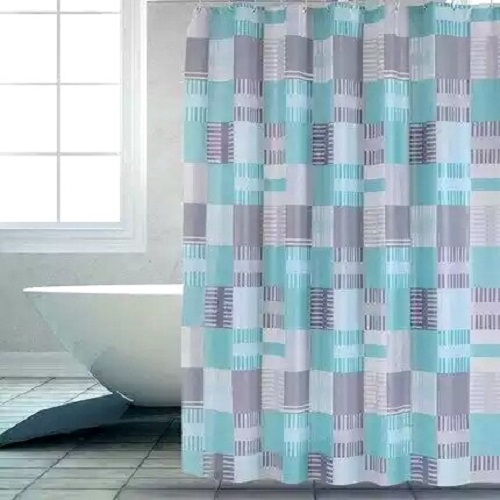 Shower Curtain PEVA Colorful Pattern