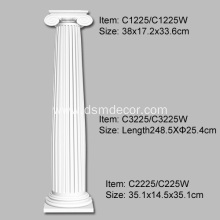 Good Quality for Full Columns Polyurethane Classical Ionic Order Column export to India Importers