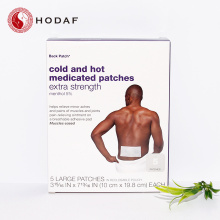 Chinese herbal pain relief heat patch for arthritis
