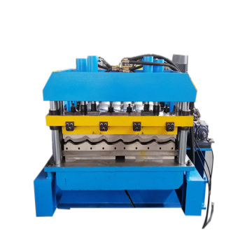 Hot selling glazed roof tile forming machine