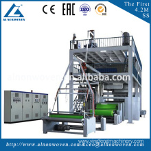 High speed 1.6m S model non woven fabric making machine
