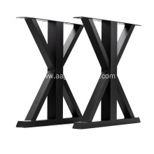 Industrial Modern Metal Dining Coffee Table Legs
