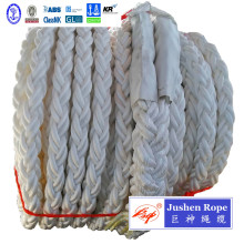 8-Strand Braided Green Polypropylene Mooring Hawser Rope