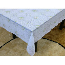 Printed Vinyl lace tablecloth by roll