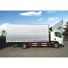 Wholesale Price for Curtainside Box Truck Cargo Truck With Aluminum Body export to Romania Suppliers